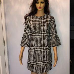 Zara new mini dress with 3/4 sleeves